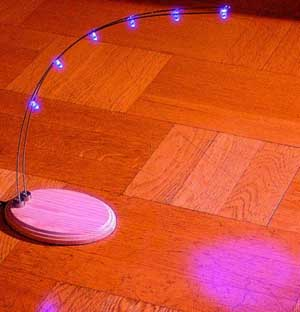 Homemade LED lamp using this LED
